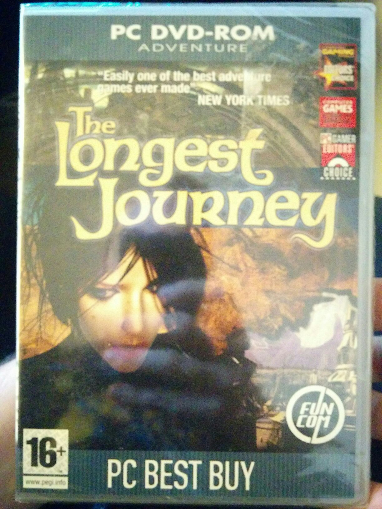 The Longest Journey Video Game - PC - from Sort It Apps