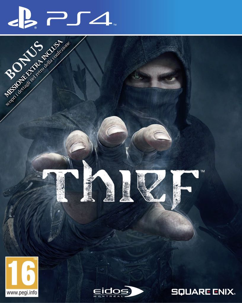 Thief Video Game - PS4 (UK) - from Sort It Apps