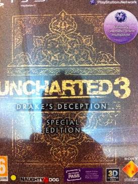Uncharted 3 Drake S Deception Special Edition Video Game Ps3