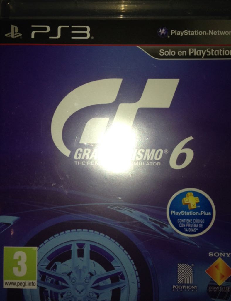 gran turismo 6 video game ps3 from sort it apps. Black Bedroom Furniture Sets. Home Design Ideas