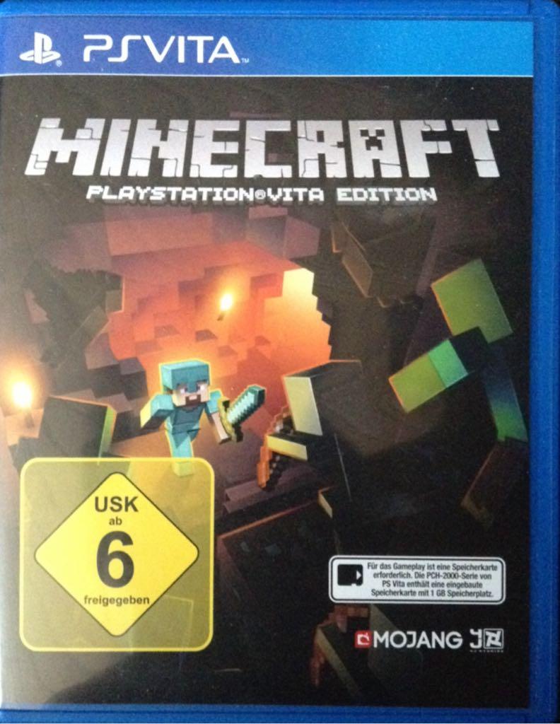 Minecraft Playstation Vita Edition Video Game PS Vita Germany - Minecraft spiele fur ps vita