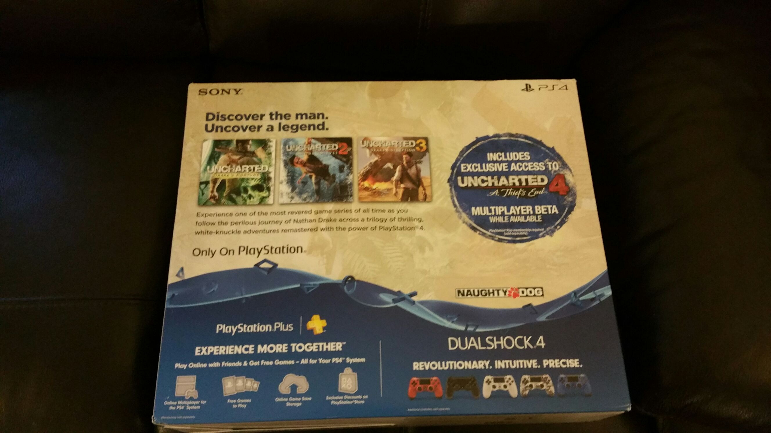 Uncharted The Nathan Drake Collection 500gb Ps4 Bundle Video
