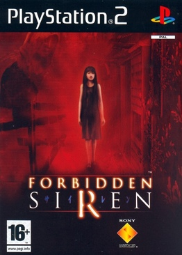 Forbidden Siren Video Game - PS2 (France) front image (front cover)