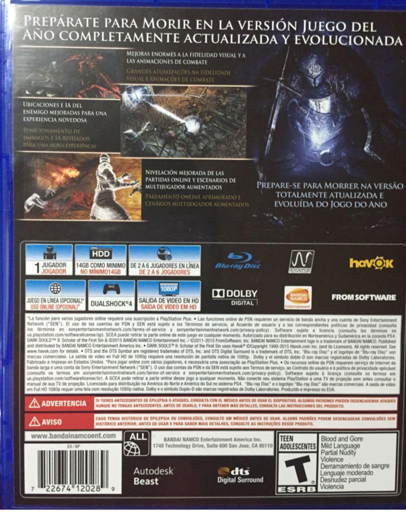 Dark souls 2 ps4 release date in Sydney