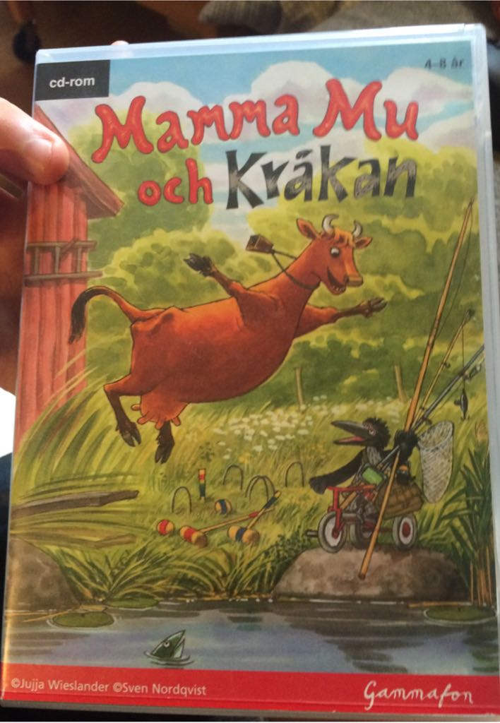 Mamma Mu Och Krakan Video Game - PC (Sweden) front image (front cover)