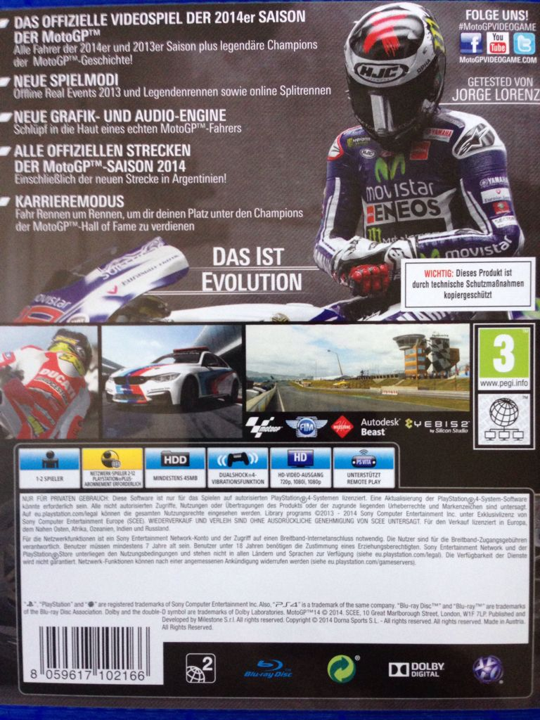 Moto GP 14 Video Game - PS4 (Indonesia) - from Sort It Apps