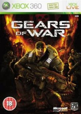 Gears Of War Video Game - Xbox 360 (Belgium) front image (front cover)