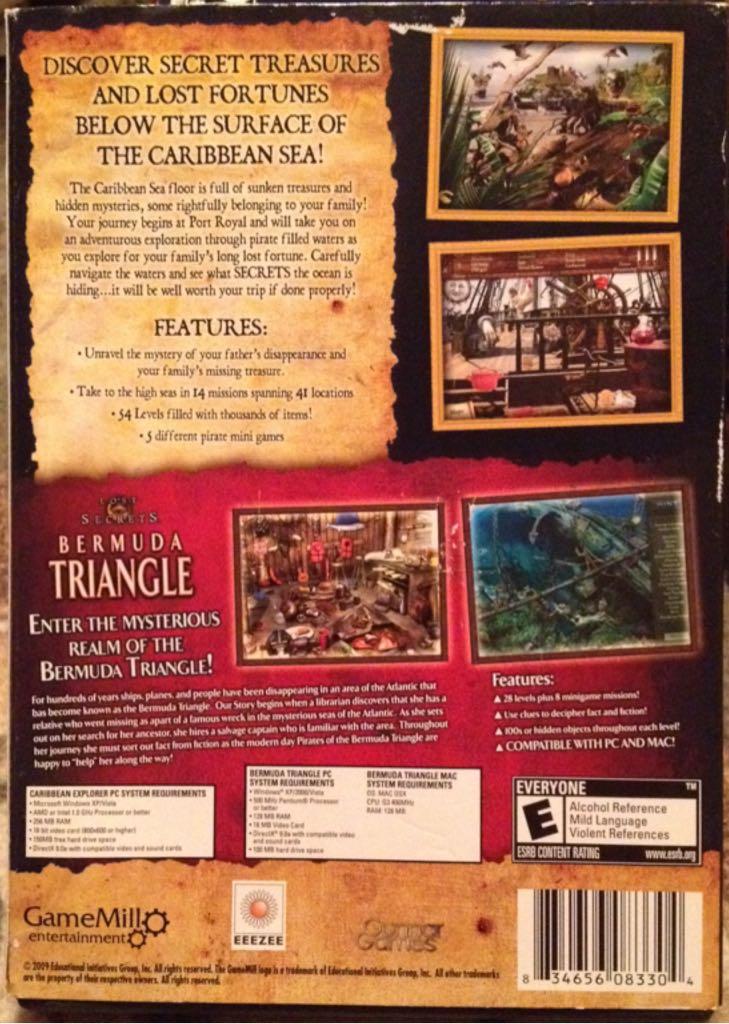 Caribbean Explorer Secrets Of The Sea Video Game - PC