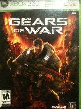 Gears Of War Video Game - Xbox 360 (Sweden) front image (front cover)