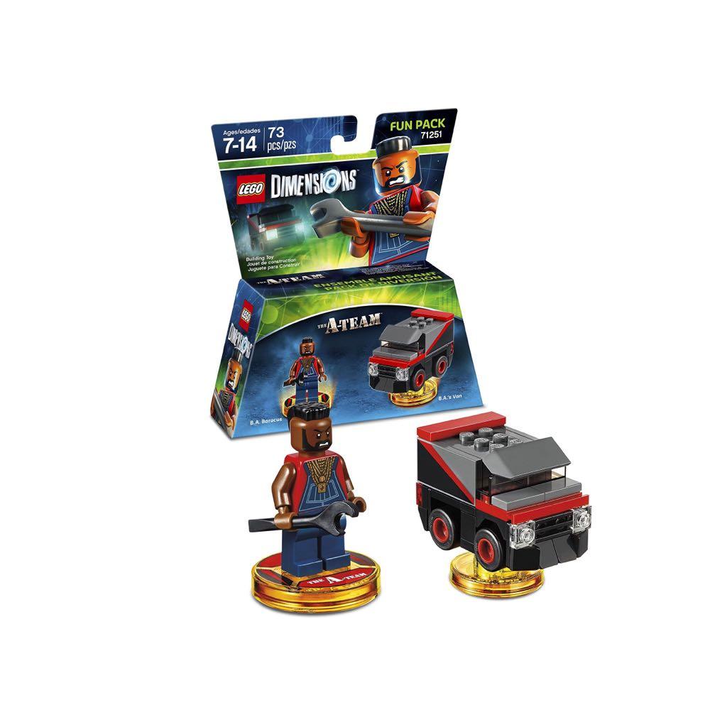 LEGO Dimensions (Fun Pack) A-Team Video Game - Xbox One