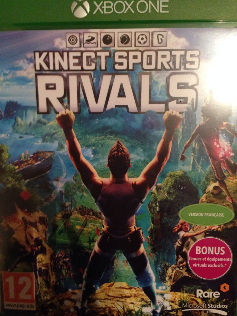 Kinect Sports Rivals Video Game - Xbox One (France) - from