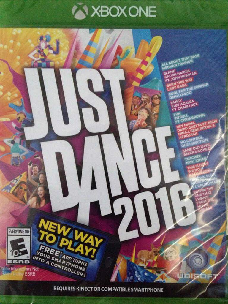 Just Dance 2016 Video Game - Xbox One (USA) - from Sort It Apps