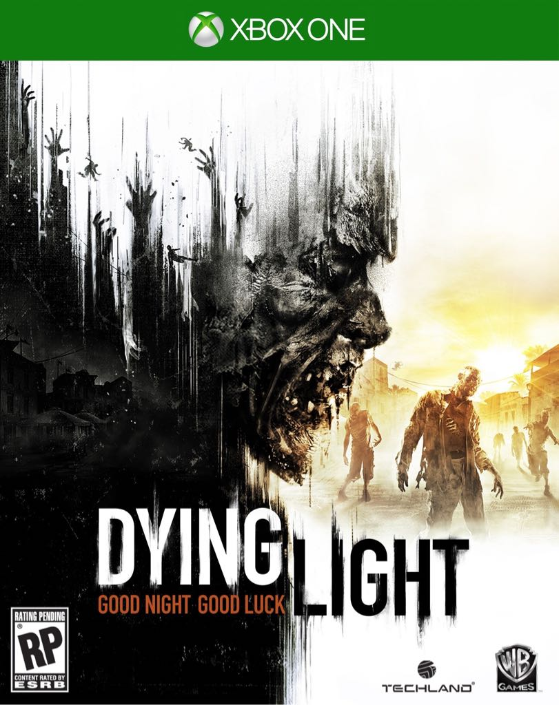 Xbox One Game Cover Back Dying Light Video Game...