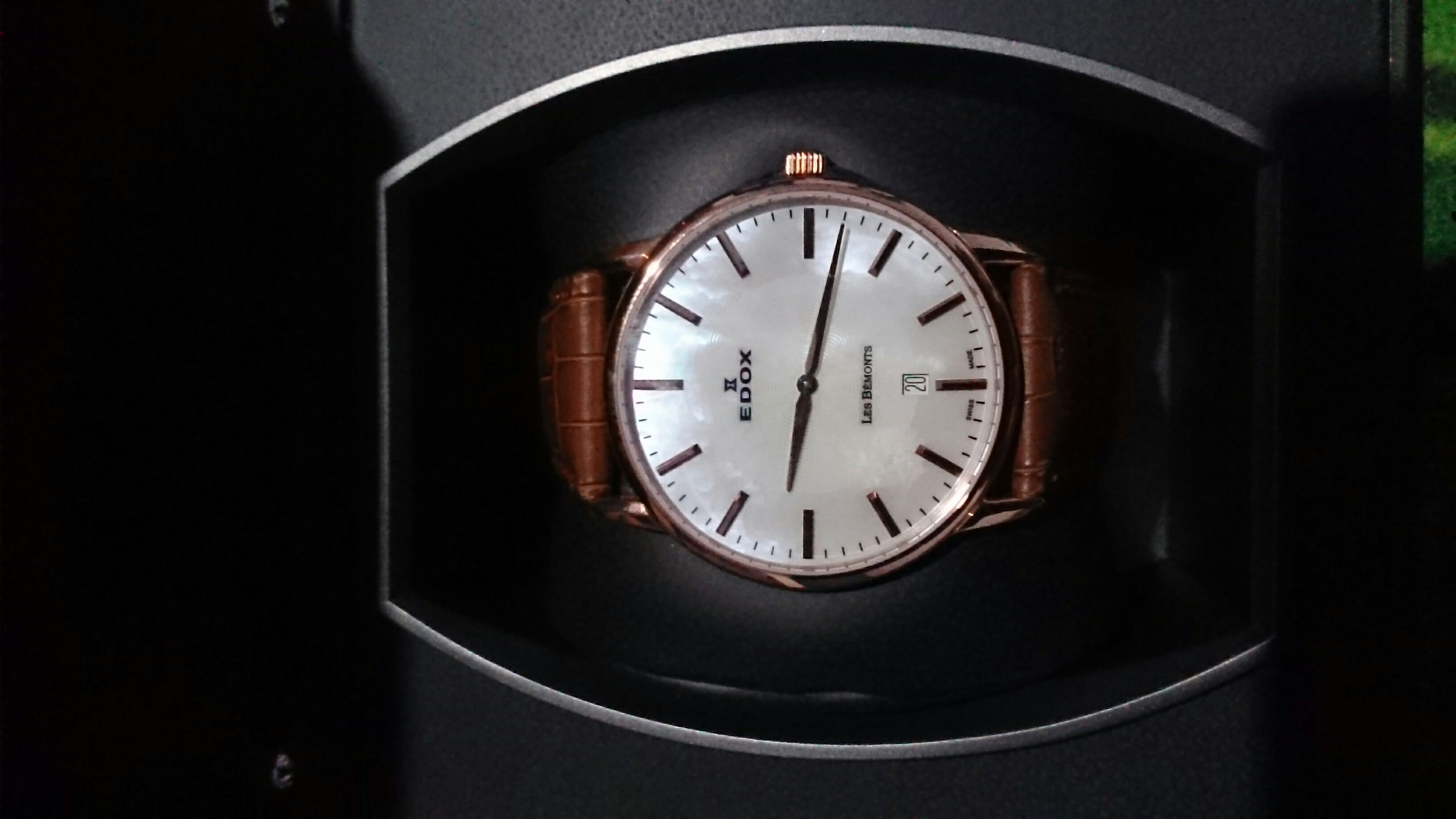 Mother oficina pearl Watch - Edox (560071) front image (front cover)