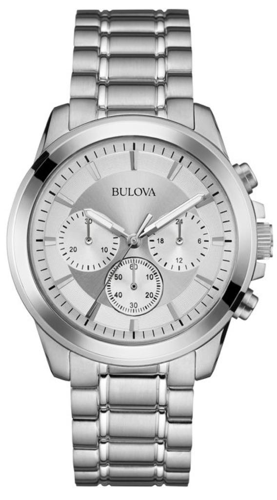 Bulova 96A176 Watch - Bulova (96A176) front image (front cover)