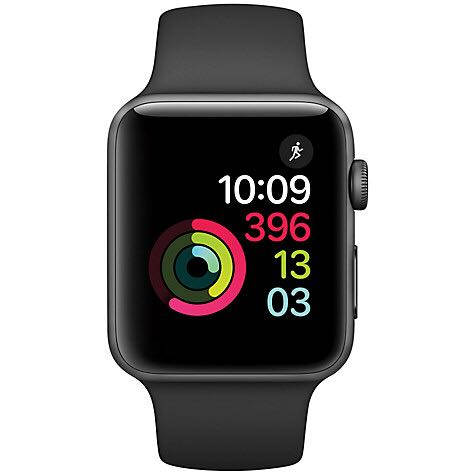 Apple Watch Series 2 Space Gray Watch - Apple (Series 4 | 44mm) front image (front cover)