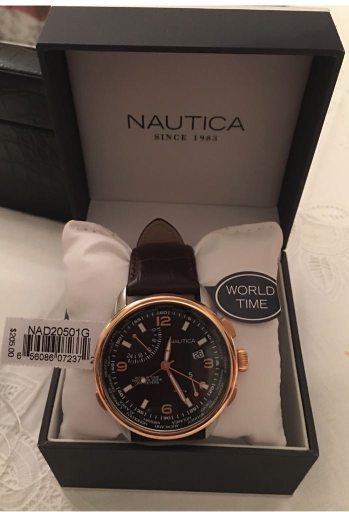 Nautica World Time Watch - Nautica (NAD20501G) front image (front cover)