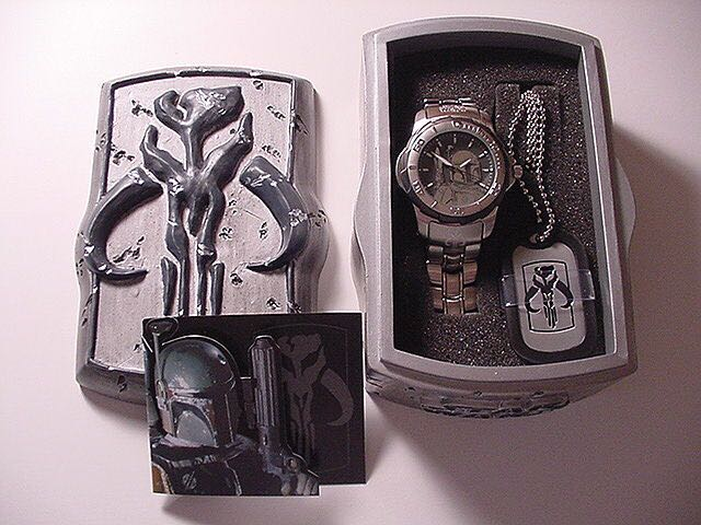 Boba Fett Fossil Watch Watch - Fossil front image (front cover)