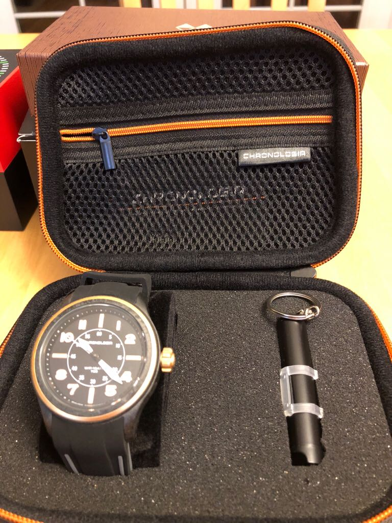 Chronologia Watch - Chronologia (Air Pilot R003.4) back image (back cover, second image)