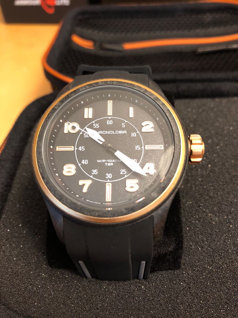 Chronologia Watch - Chronologia (Air Pilot R003.4) front image (front cover)