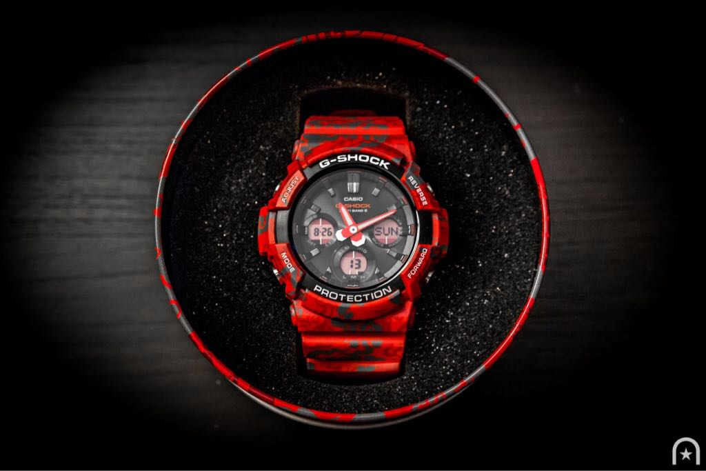 GAW100CG-4A Watch - Casio (GAW100CG-4A) front image (front cover)