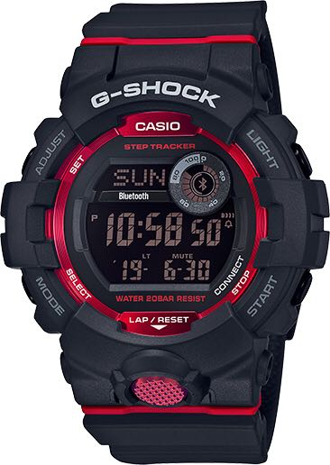 GBD800-1 Watch - Casio G-Shock (GBD-800-1CR) front image (front cover)