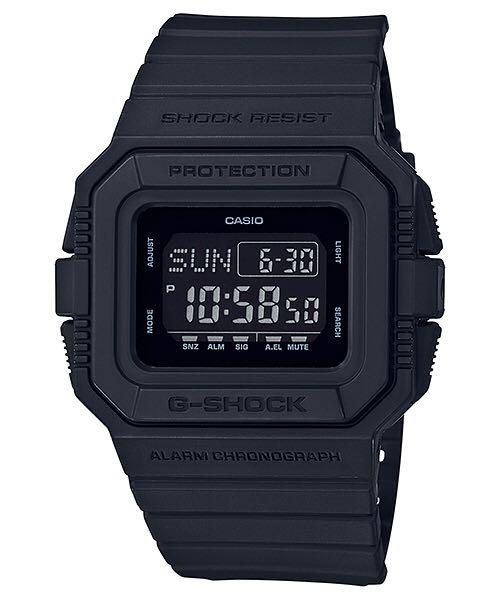 DW-D500BB-1CR Watch - Casio (DW-D500BB) front image (front cover)