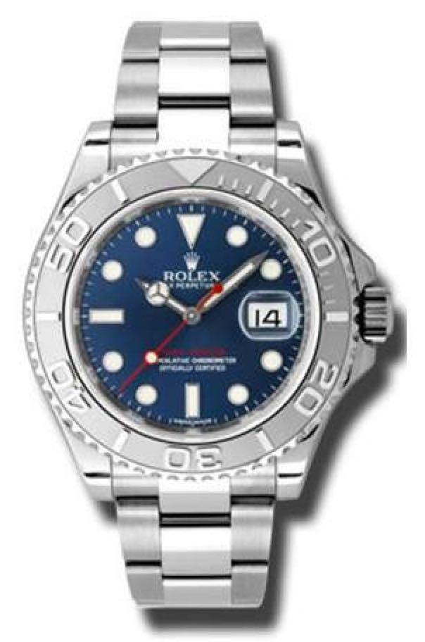 Yachtmaster Watch - Rolex (Oyster) front image (front cover)