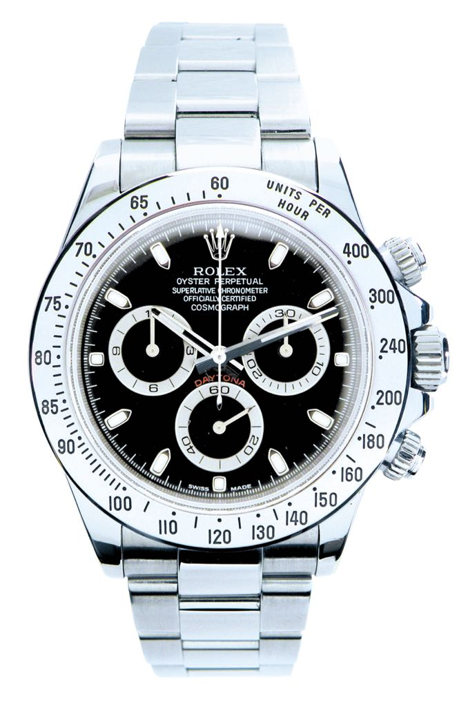 Daytona Watch - Rolex (Oyster Perpetual) front image (front cover)