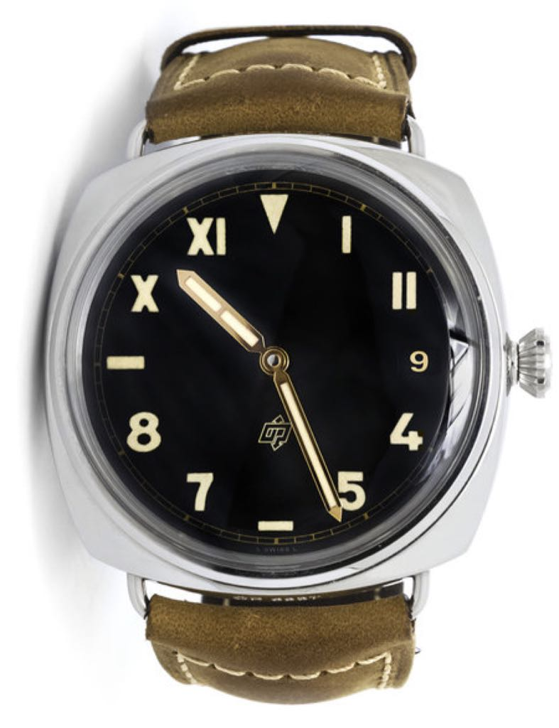 Radiomir California 3 Days Acciaio Watch - Panerai front image (front cover)