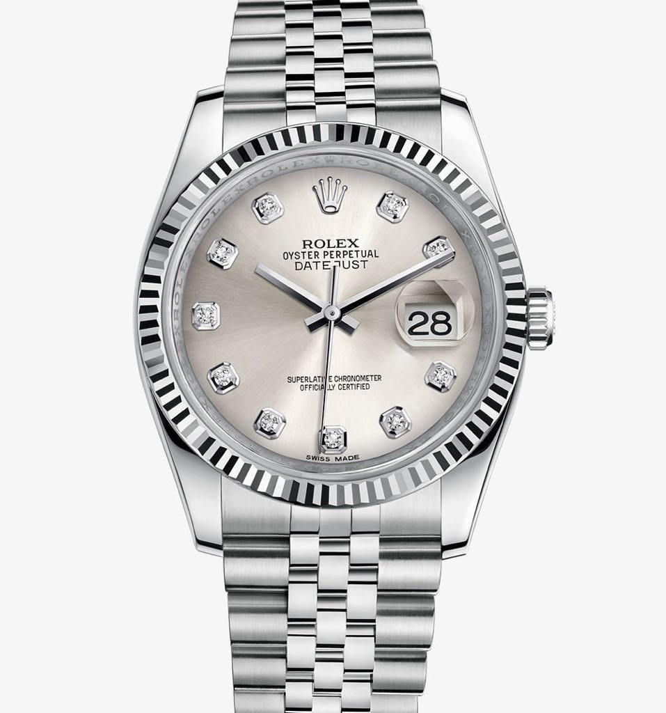 Datejust 36 Watch - Rolex front image (front cover)
