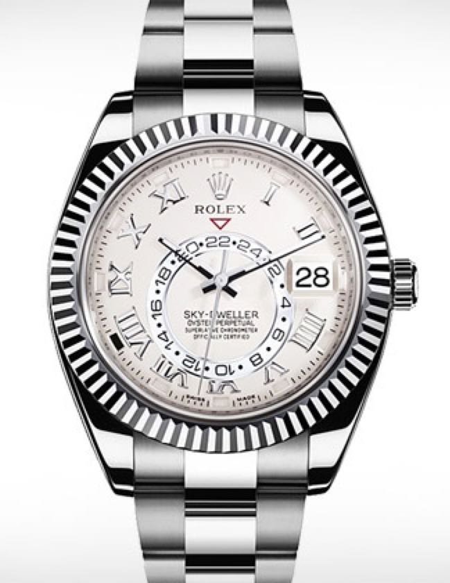 Sky-Dweller Watch - Rolex front image (front cover)