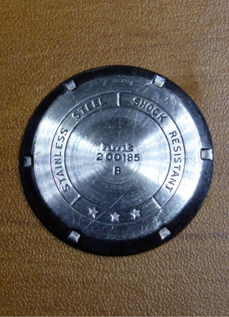 HMT Jawan Para Shock Watch - HMT (Jawan Para Shock) back image (back cover, second image)