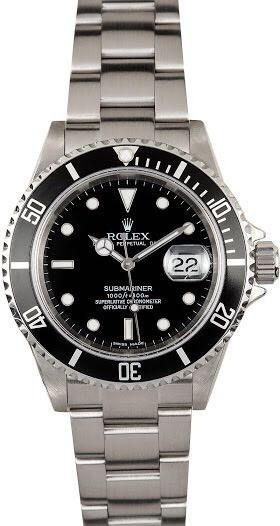 Rolex Submariner Watch - Rolex (Oyster 116618LB) front image (front cover)