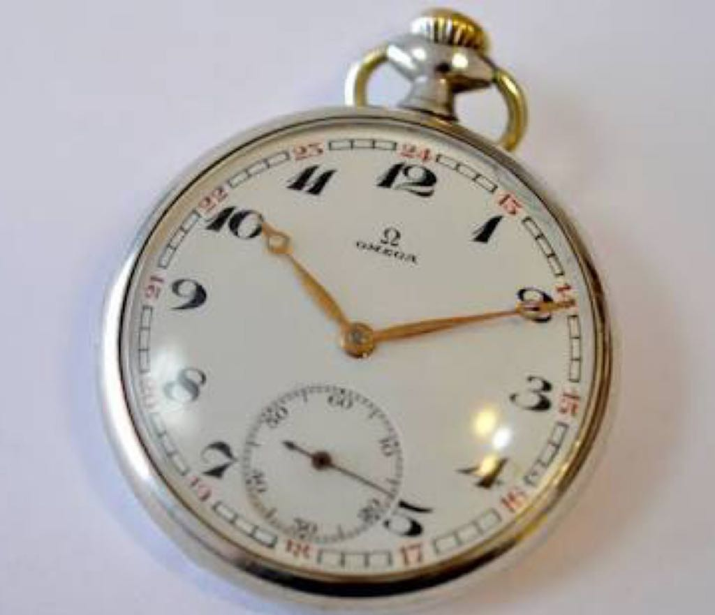 Omega Pocket Watch Watch - Omega front image (front cover)