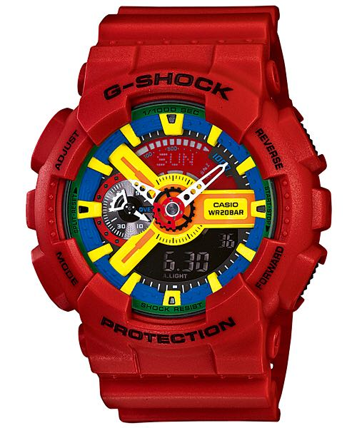 G-Shock Watch - Casio (GA-110FC) front image (front cover)