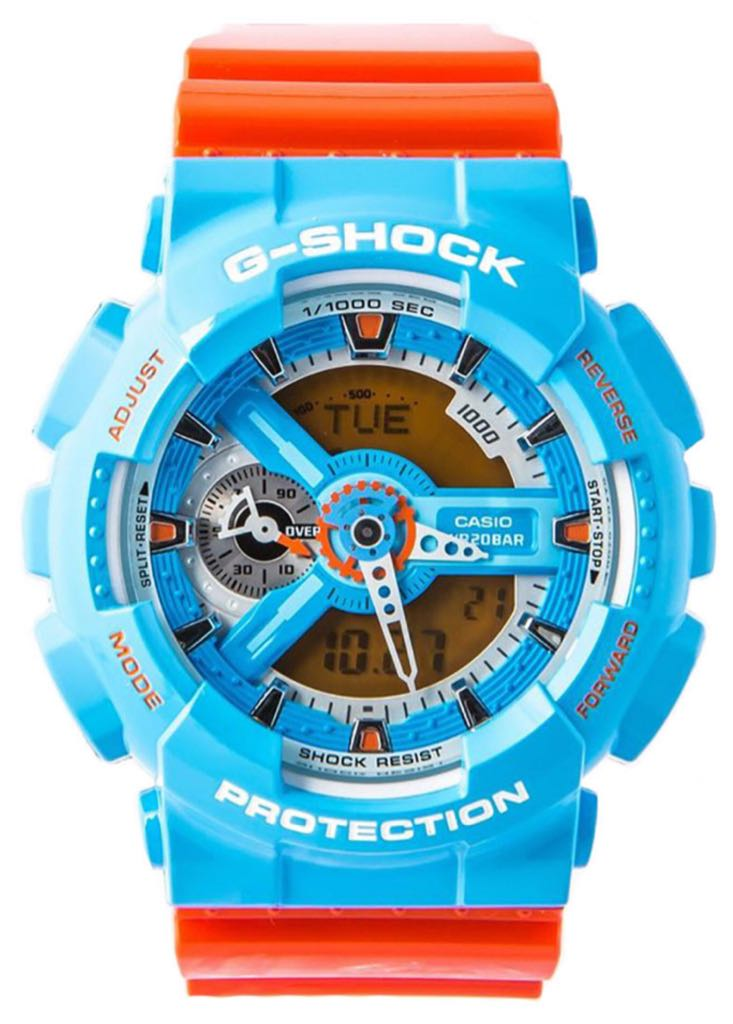 G-Shock Watch - Casio (GA-110NC) front image (front cover)