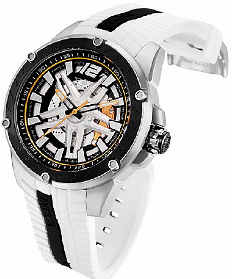 S1 Rally Turbine Watch - Invicta (28296) back image (back cover, second image)