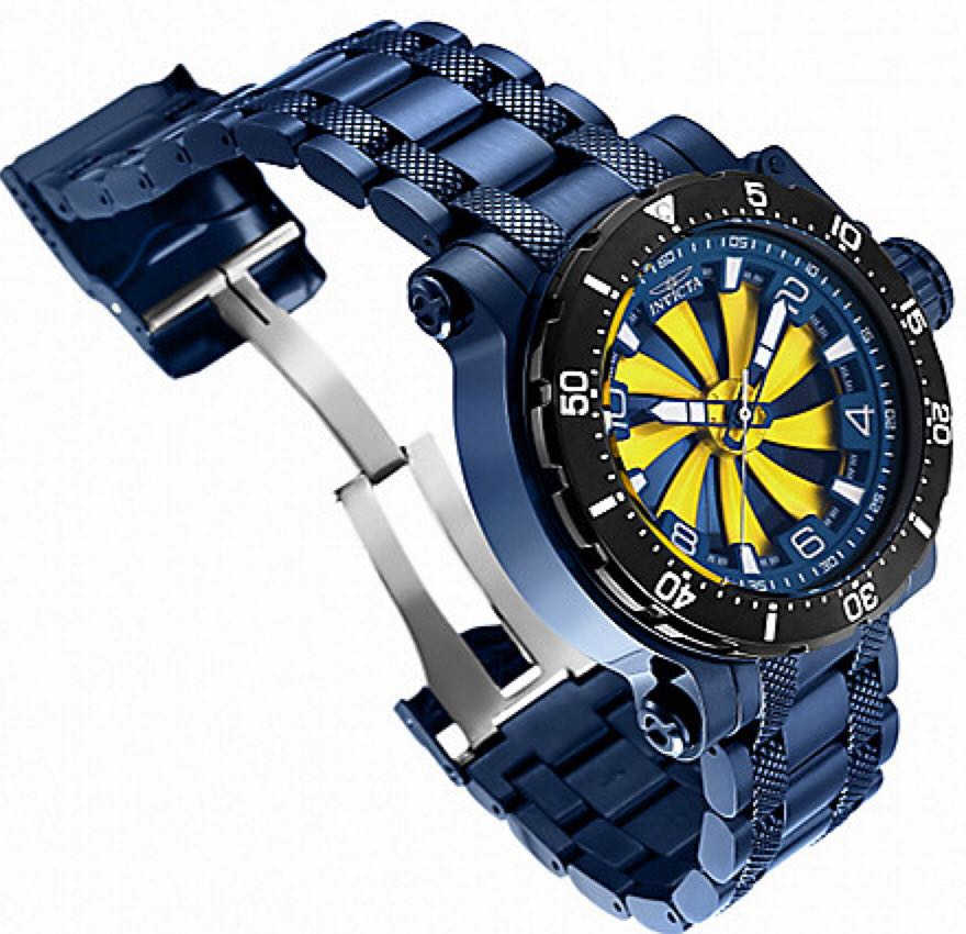 Coalition Forces Turbine Watch - Invicta (27892) back image (back cover, second image)