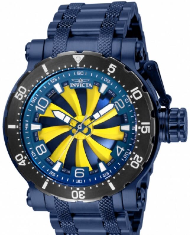 Coalition Forces Turbine Watch - Invicta (27892) front image (front cover)