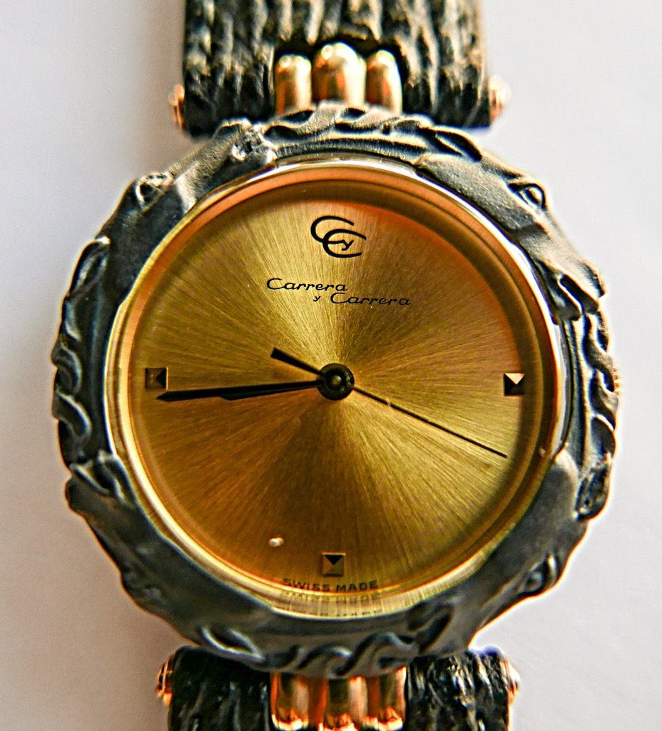 CARRERA Y CARRERA Watch - CARRERA (HORSE ON BEZEL) front image (front cover)