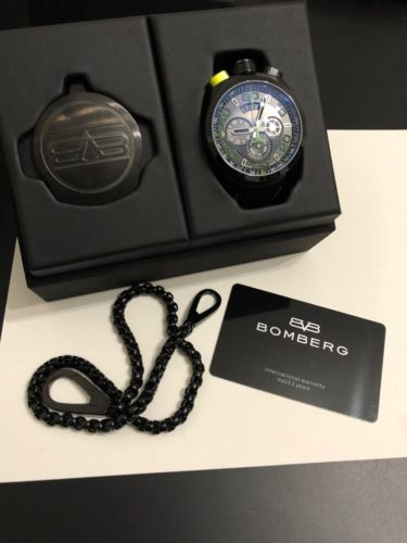 Wristwatch / Pocket watch combo Watch - Bomberg (Bolt 68) back image (back cover, second image)