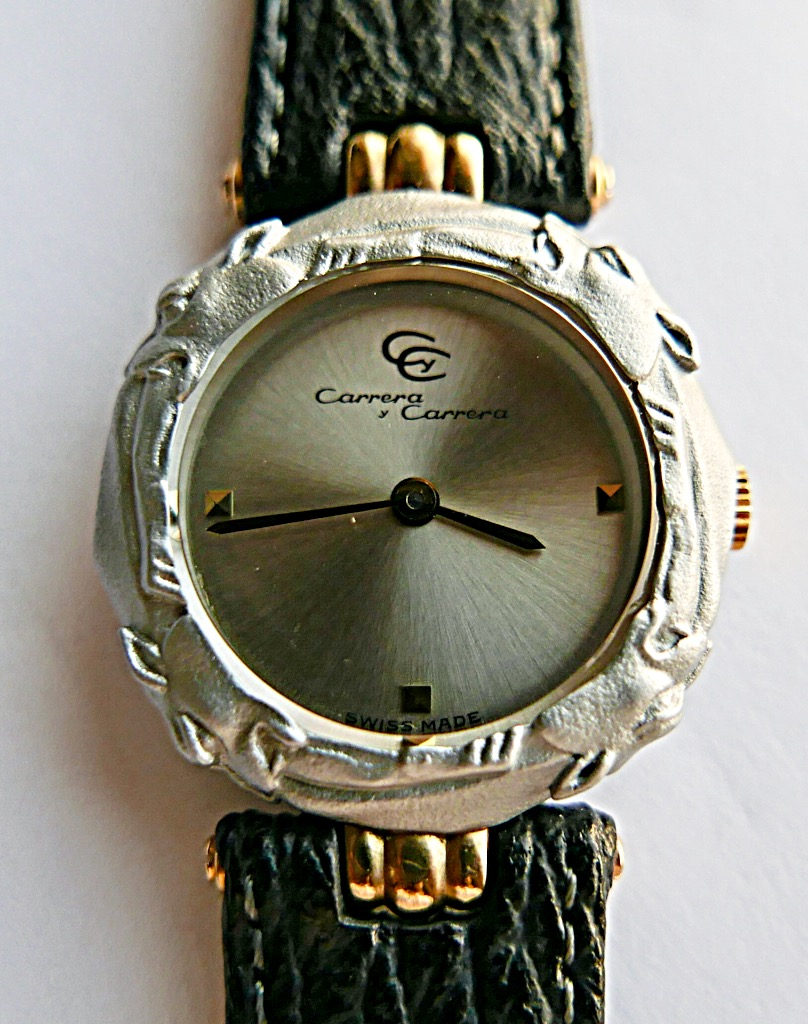 CARRERA Y CARRERA Watch - CARRERA (SILVER DIAL W/ PANTHERS) front image (front cover)