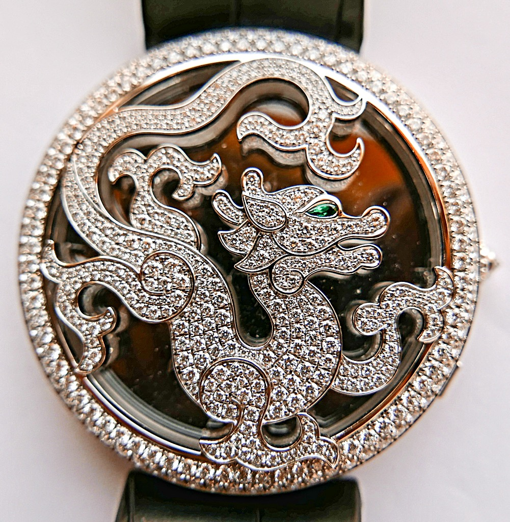 CARTIER Watch - CARTIER (DIAMONDS CHINESE DRAGON LTD EDITION 097/150) front image (front cover)