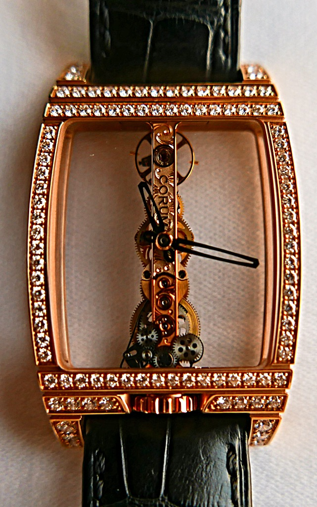 CORUM Watch - CORUM (GOLDEN BRIDGE 2200529) front image (front cover)