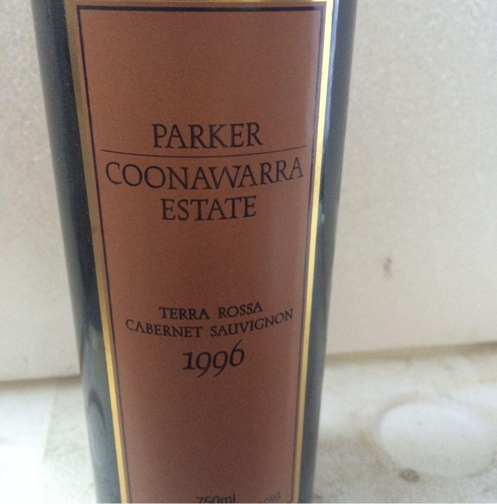 Parker Wine - Cabernet Sauvignon front image (front cover)