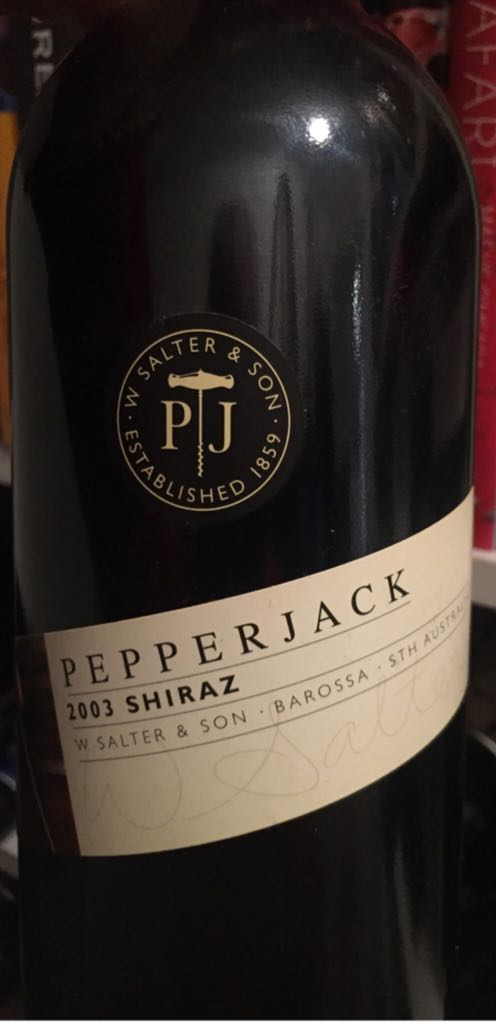 Pepperjack Wine - Shiraz (Saltram Wine Estate) front image (front cover)