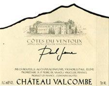 Chateau Valcombe Cotes Du Ventoux Wine - Cotes Du Ventoux (Chateau Valcombe) front image (front cover)