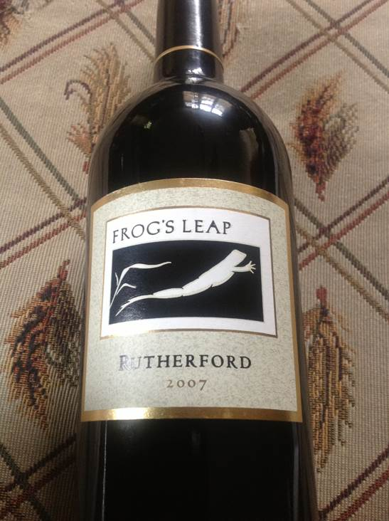 Frog's Leap Wine - Cabernet Sauvignon (Frogs Leap Winery) front image (front cover)