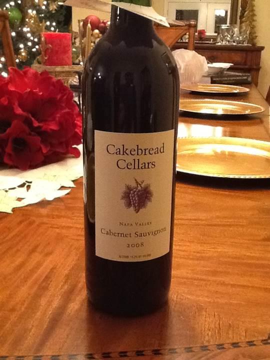 Cakebread Cellars Cabernet Sauvignon Wine - Red Wine (Cakebread) front image (front cover)